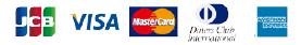 JCB、VISA、MASTERカード